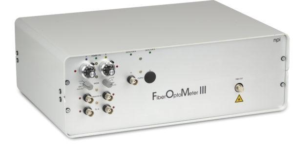 Demo of FiberOptoMeter III